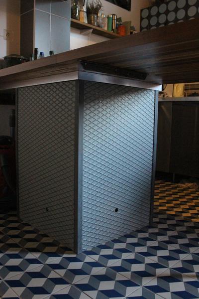 cuisine bois acier stratifier6