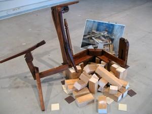 Sculpture perf-fauteuil